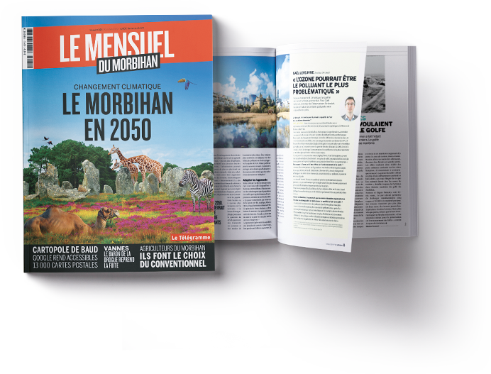 Changement climatique : <br />le Morbihan en 2050