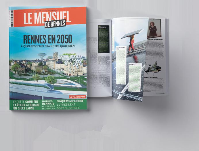 Rennes en 2050 :<br /> À quoi ressemblera<br /> notre quotidien