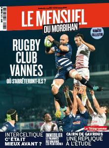 Le Mensuel du Morbihan, nouvelle édition. Rugby Club Vannes : où s'arrêteront-ils ?