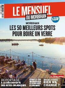Le Mensuel du Morbihan, nouvelle édition. Morbihan : Les 50 meilleurs spots où boire un verre