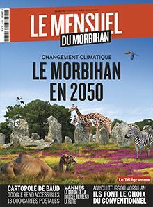 Le Mensuel du Morbihan, nouvelle édition. Changement climatique : le Morbihan en 2050