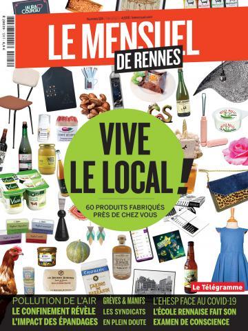 Le Mensuel de Rennes, nouvelle édition. Vive le local ! 60 produits fabriqués près de chez vous