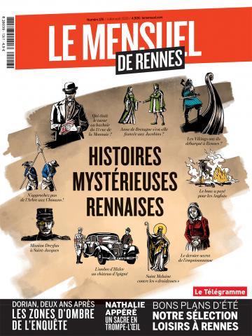 Le Mensuel de Rennes, nouvelle édition. Affaires non classées : rumeurs et légendes urbaines