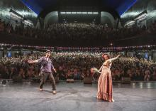 LILI CROS et THIERRY CHAZELLE À L'OLYMPIA
