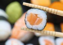 Tenia dans les sushi Rennes
