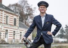Jean-Philippe Vanwalleghem chef de gare Pontivy