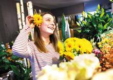 Fleuristes rennais ne connaissent pas la crise
